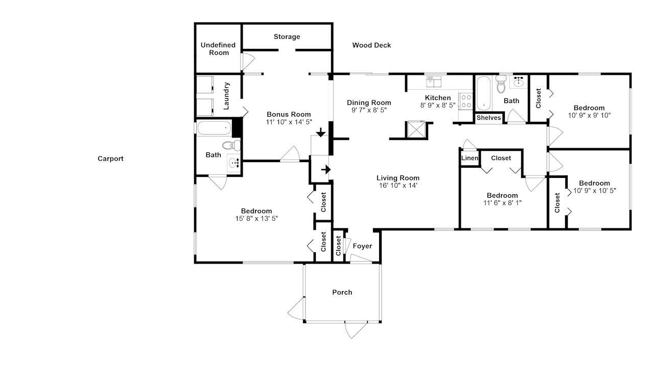 investment property - 3834 Rendale Dr, Jacksonville, FL 32210, Duval - image 3