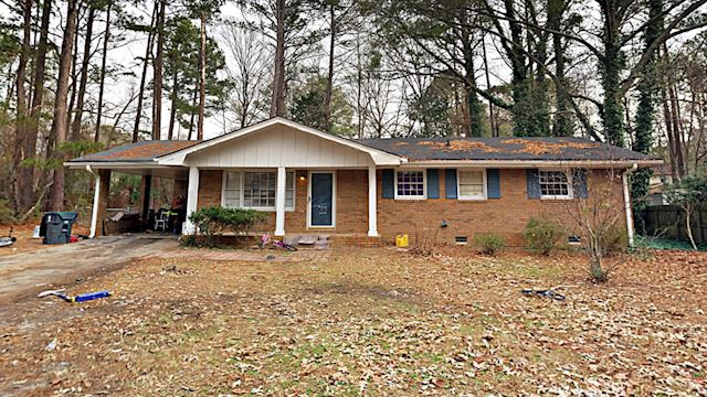 investment property - 650 Jefferson Ave, Fayetteville, GA 30214, Fayette - main image