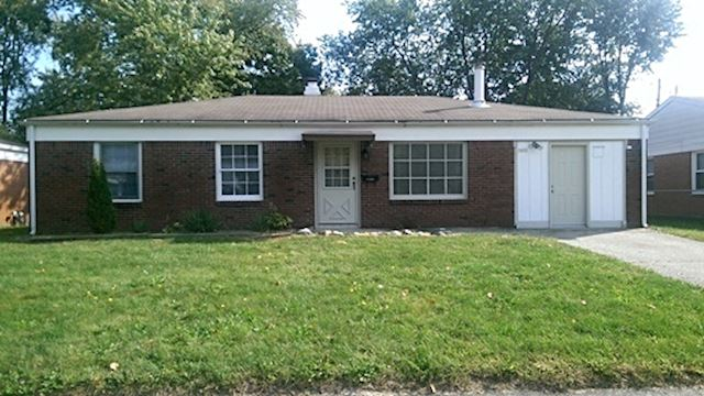 investment property - 2611 Belmar Ave, Indianapolis, IN 46219, Marion - main image