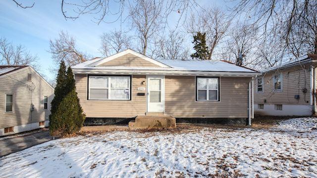 investment property - 6056 Jackson Ave, Saint Louis, MO 63134, Saint Louis - main image