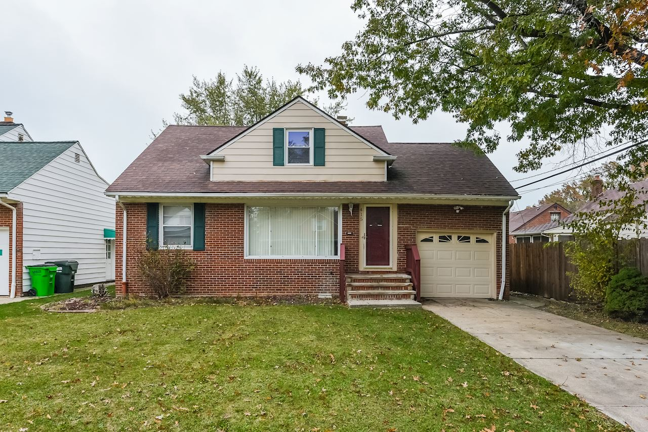 investment property - 415 Halle Dr, Euclid, OH 44132, Cuyahoga - image 1