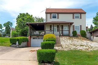 investment property - 917 Jefferson Dr, Clairton, PA 15025, Allegheny - main image